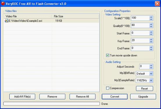 Windows 7 AVI to Flash Converter v2.0 full
