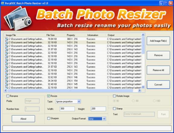 Image Batch Resizer