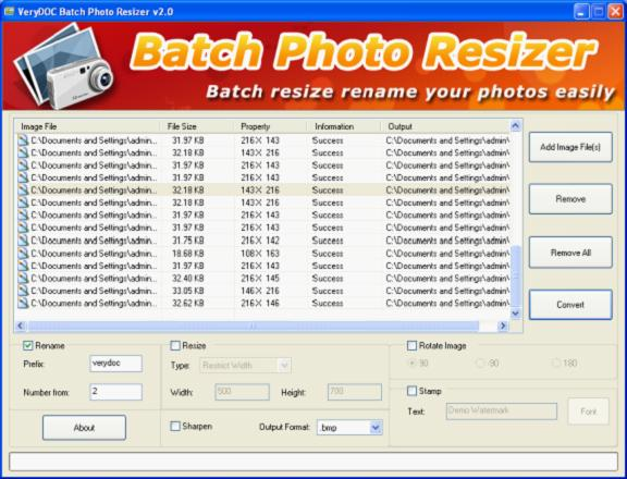 Edit Photo Names
