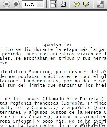 When You Enter The Interface May Wonder This An English Version So Can It Accept Spanish Command Answer Is Yes