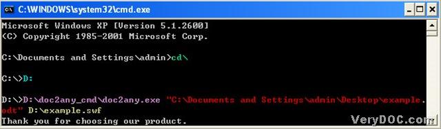 How to convert OpenOffice writer to flash? | VeryDOC