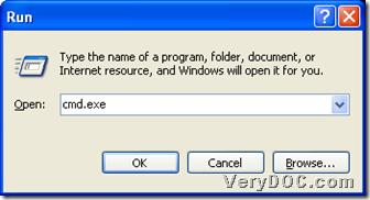 "run ""cmd.exe"""