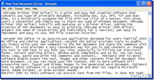 converted text file from XPS