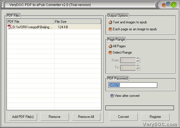 linux epub to pdf conversion