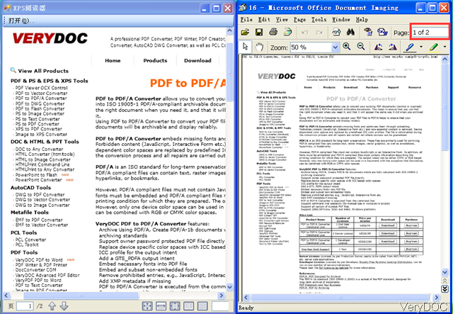 VeryDOC XPS to Tiff Command Line Converter | VeryDOC Knowledge Base