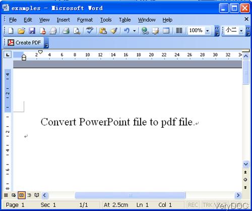 input word file