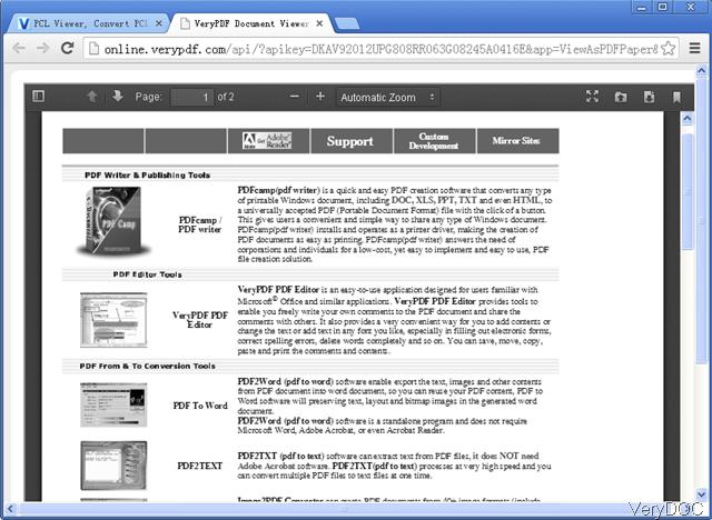 pcl to pdf converter free download