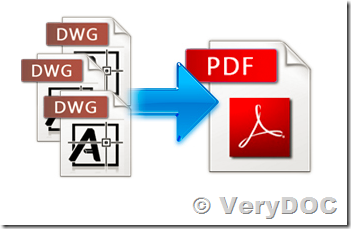 How to convert a DXF or DWG file to PDF file and maintain