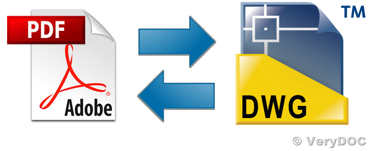 PDF to DWG/DXF Converter, DWG/DXF to PDF Converter, DWG/DXF