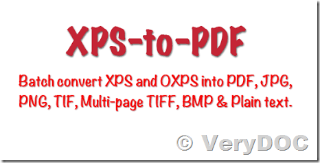 How to Batch Convert or Print XPS files to PDF files? Best