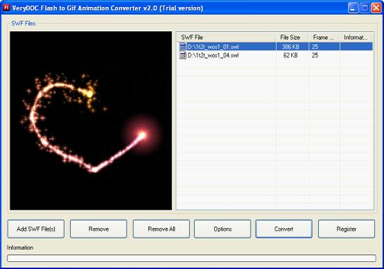 VeryDOC Flash to GIF Animation Converter---- Convert Flash to