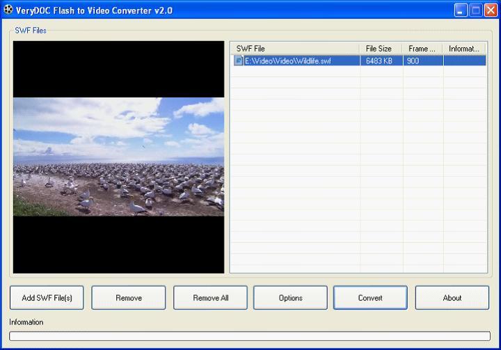 Windows 7 SWF to MP4 Converter v2.0 full
