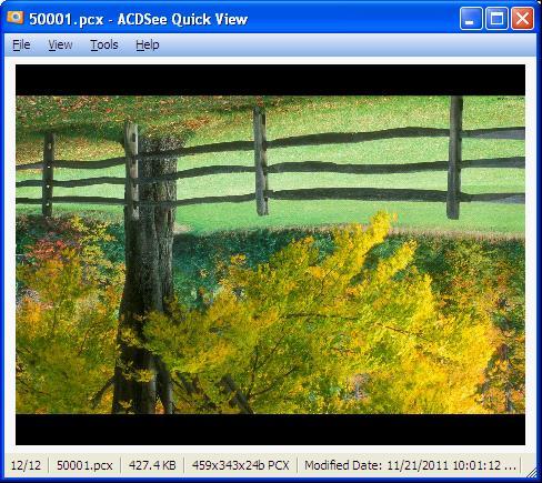 view pcx file