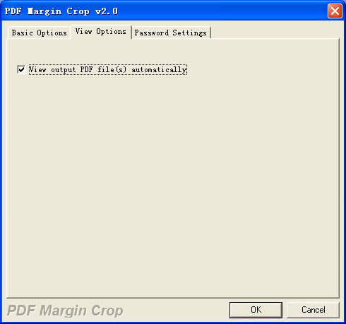 PDF Margin Crop screenshot 3 - PDF Margin Crop able to view output cropped PDF files automatically.