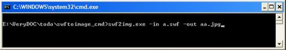 Flash to JPG Converter Command Line
